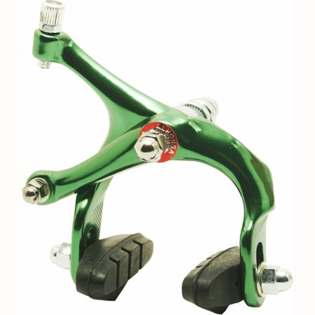 Green Bicycle Brake Calipers Bike Replacement Parts 45-57 Mm Forged Alloy