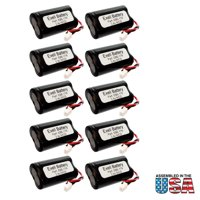 10pc Exit Light Battery For Exitronix Exit Signs 10010034 10010036 FAST USA SHIP