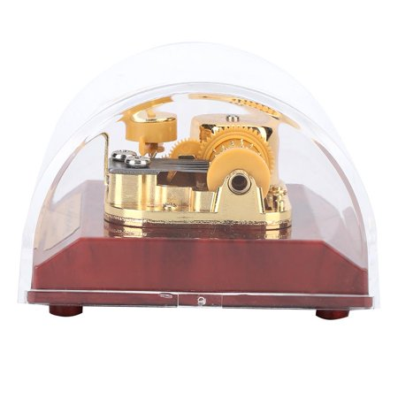 Domqga Acrylic Music Box Gold-plated Movement Music Box Musical Toy Kids Children Gift Home Decor, Musical Toy Kids Gifts, Music Box - image 3 de 7