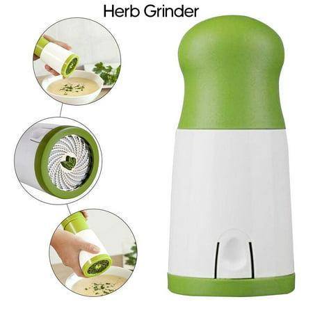 Manual Herb Grinder Spice Mill Parsley Shredder Chopper Vegetable Cutter Hand-Operated Kitchen (Best Grinder For The Money)