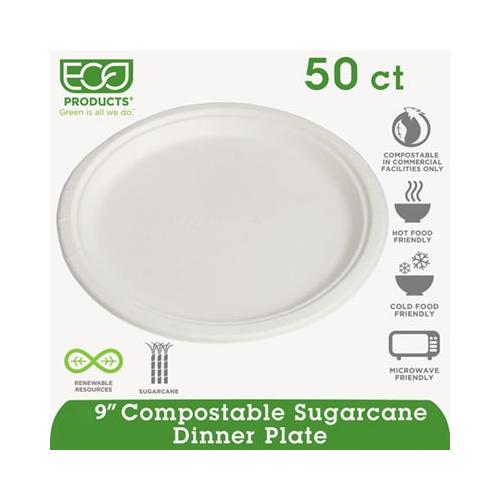Compostable Sugarcane Dinnerware ECOEPP013PK
