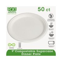 Compostable Sugarcane Dinnerware ECOEPP013PK