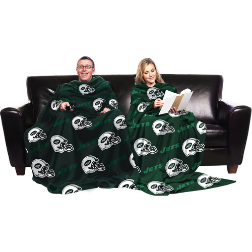 NFL New York Jets Blanket with Sleeves