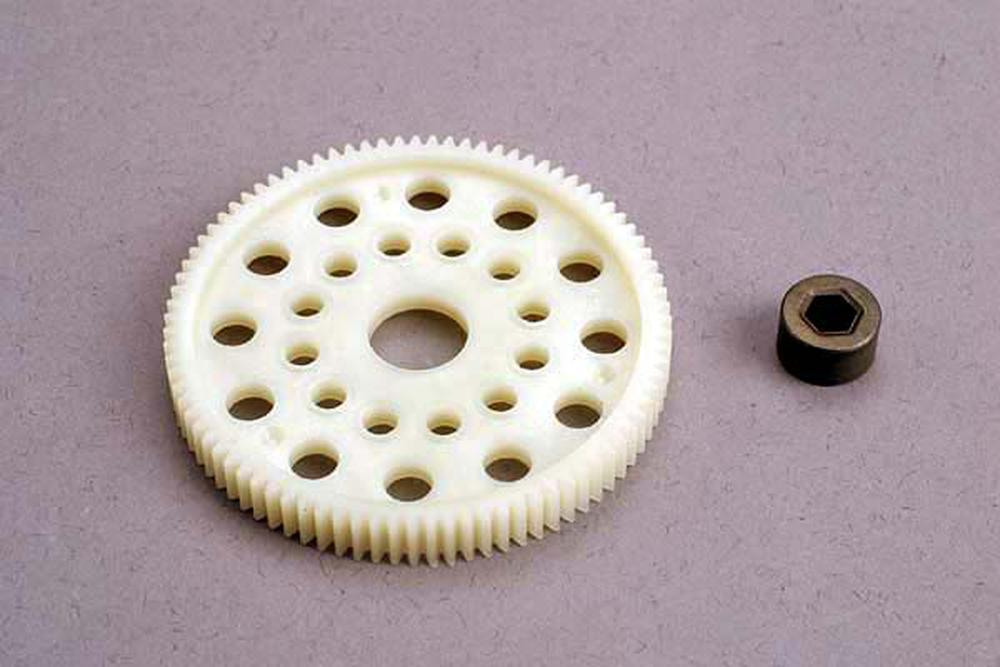 Hobby Remote Control Traxxas Tra4687 87T Spur Gear 48P Replacement Parts by TRAXXAS