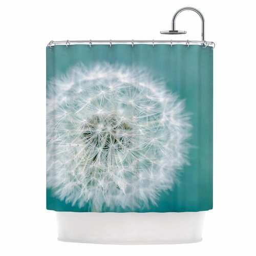 East Urban Home 'Puff' Photography Shower Curtain