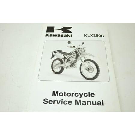 Amazon. Com: kawasaki klx250s klx250sf service repair maintenance.