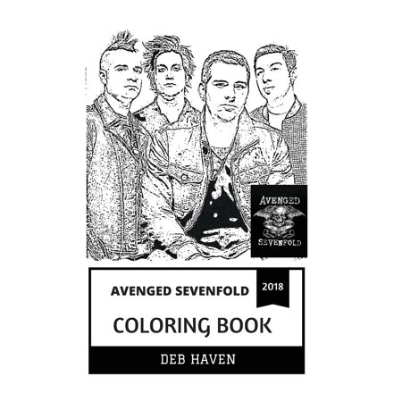 Avenged Sevenfold Coloring Book : Heavy Metal and Hardcore Legends, Synyster Gates and Great REV Sullivan Inspired Adult Coloring Book