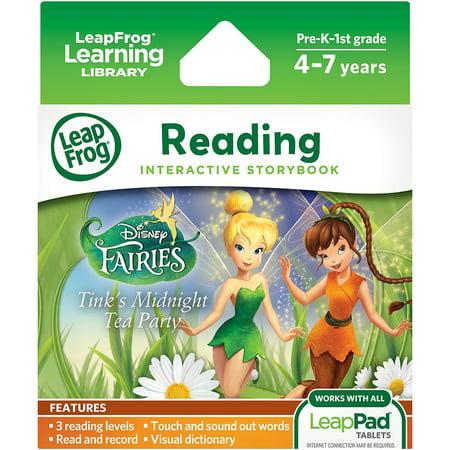 LeapFrog LeapPad Ultra eBook Adventure Builder, Disney Fairies: Tink's Midnight Adventure (Leap Year Birthday Gifts)