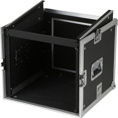 Eurolite 10x8 Mixer/Amp Combo Rack Case 10 X 8 U