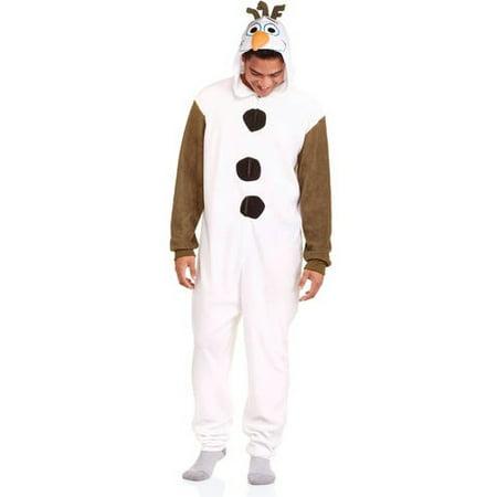 Onesie - Disney Frozen s Olaf The Snowman One Piece Pajama - Walmart.com 656473f64