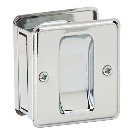 Ives 990B26 Passage Sliding Door Pull - Bright Chrome