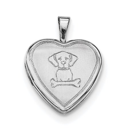 925 Sterling Silver Dog Bone Heart Photo Pendant Charm Locket Chain Necklace That Holds Pictures Gifts For Women For Her