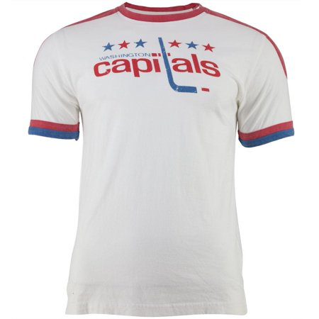 premium selection 74a2f 3ed8f Washington Capitals - Star Logo Remote Control White Adult Jersey T-Shirt