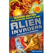 Alien Invaders: Rockhead & Infernox (2 Books in 1) - eBook