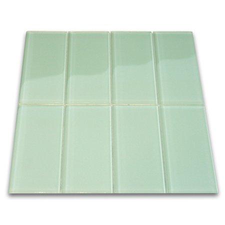 Surf Glass Subway Tile ()