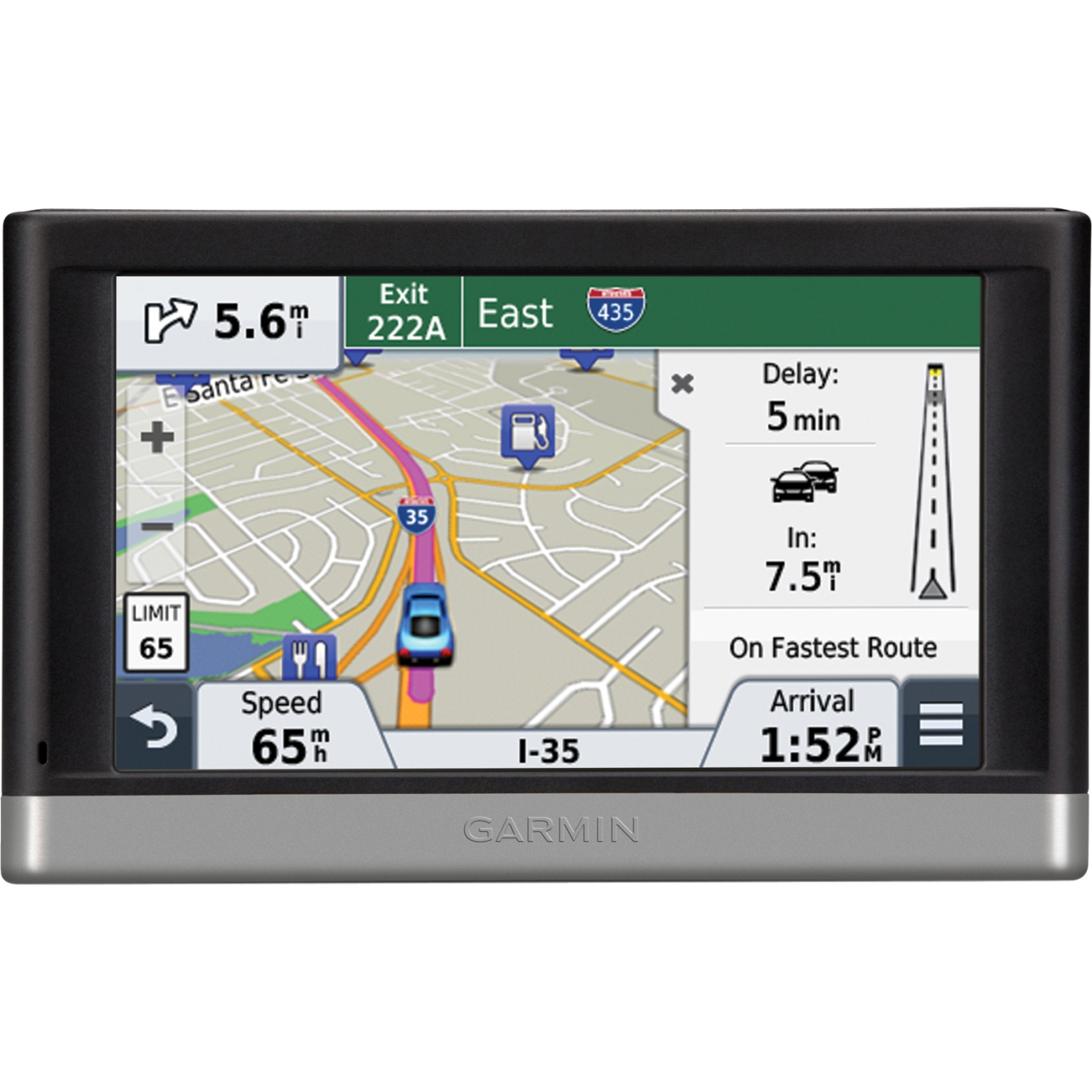 "Garmin n'vi 2457LMT 4.3"" PND w/ Lifetime Traffic & Maps"