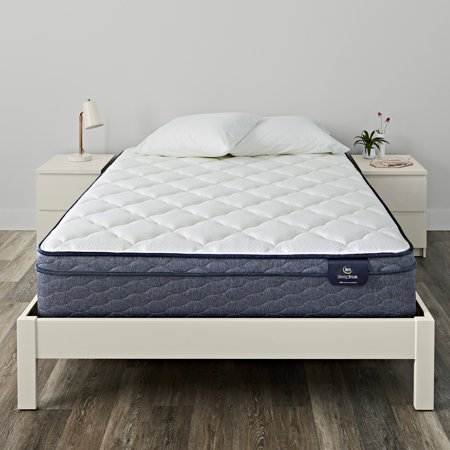 Serta King Mattresses (Serta Sleeptrue Malloy Eurotop Plush Queen Mattress)