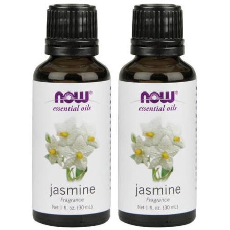 Now Foods - 1 fl oz Jasmine Fragrance Oil (Pack of 2)