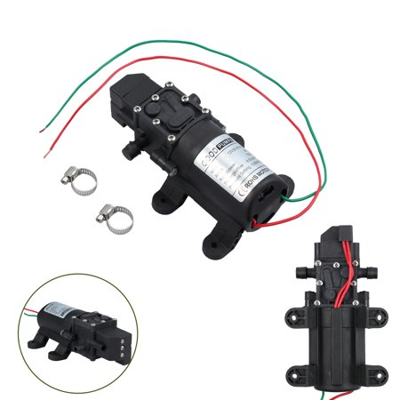 ESYNIC Micro Diaphragm High Pressure Water Pump Automatic Switch 130PSI DC 12V 6L/m 70W