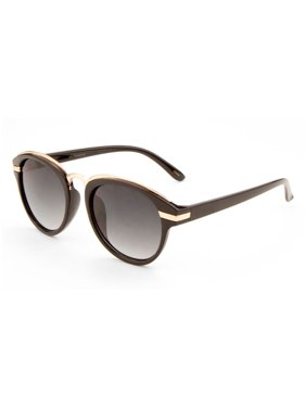 d8594a57ab3 Product Image MLC Eyewear Kara Oval Fashion Sunglasses in Black-gold