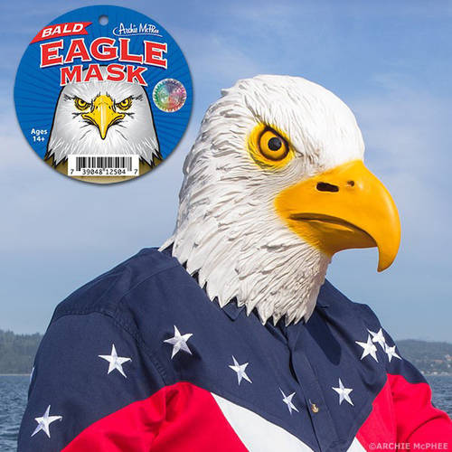 Accoutrements Bald Eagle Mask