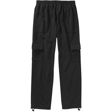Men's Cargo Fleece Sweatpant - Walmart.com