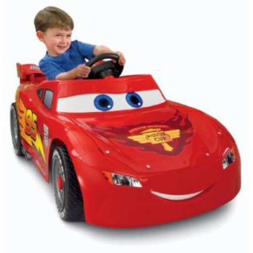 Disney Cars Power Wheels Lightning McQueen 6-Volt Battery-Powered Ride-on