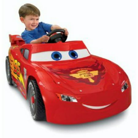 Disney Cars Power Wheels Lightning McQueen 6-Volt Battery-Powered Ride-on ShopFest Money Saver