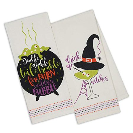 Halloween Witch Potions (Design Imports Halloween Witch Potions Brew Dishtowels Set of 2 (Witchy)