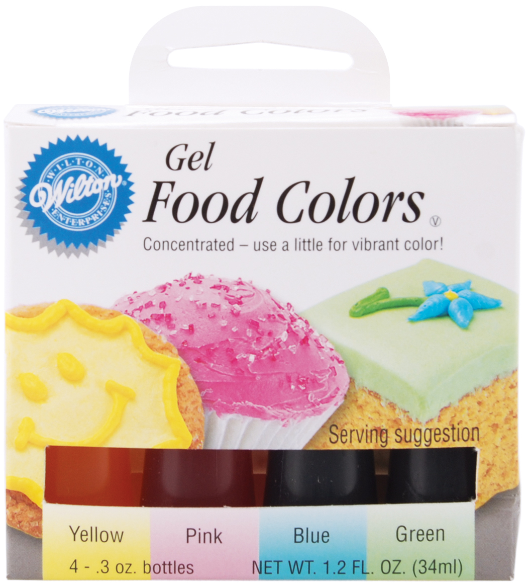 Wilton Gel Food Coloring Set, Easter 4 ct. 601-5582