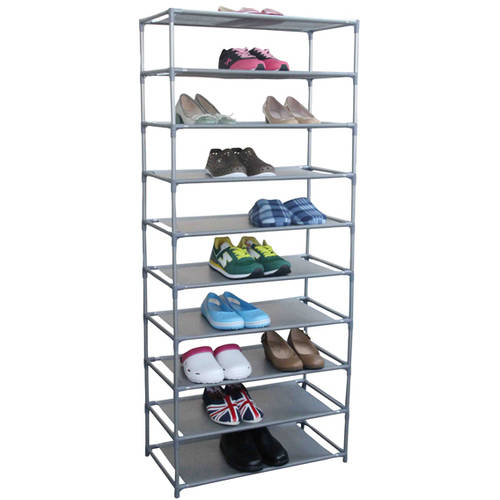 Home Basics 30 Pair Non-Woven Shoe Shelf