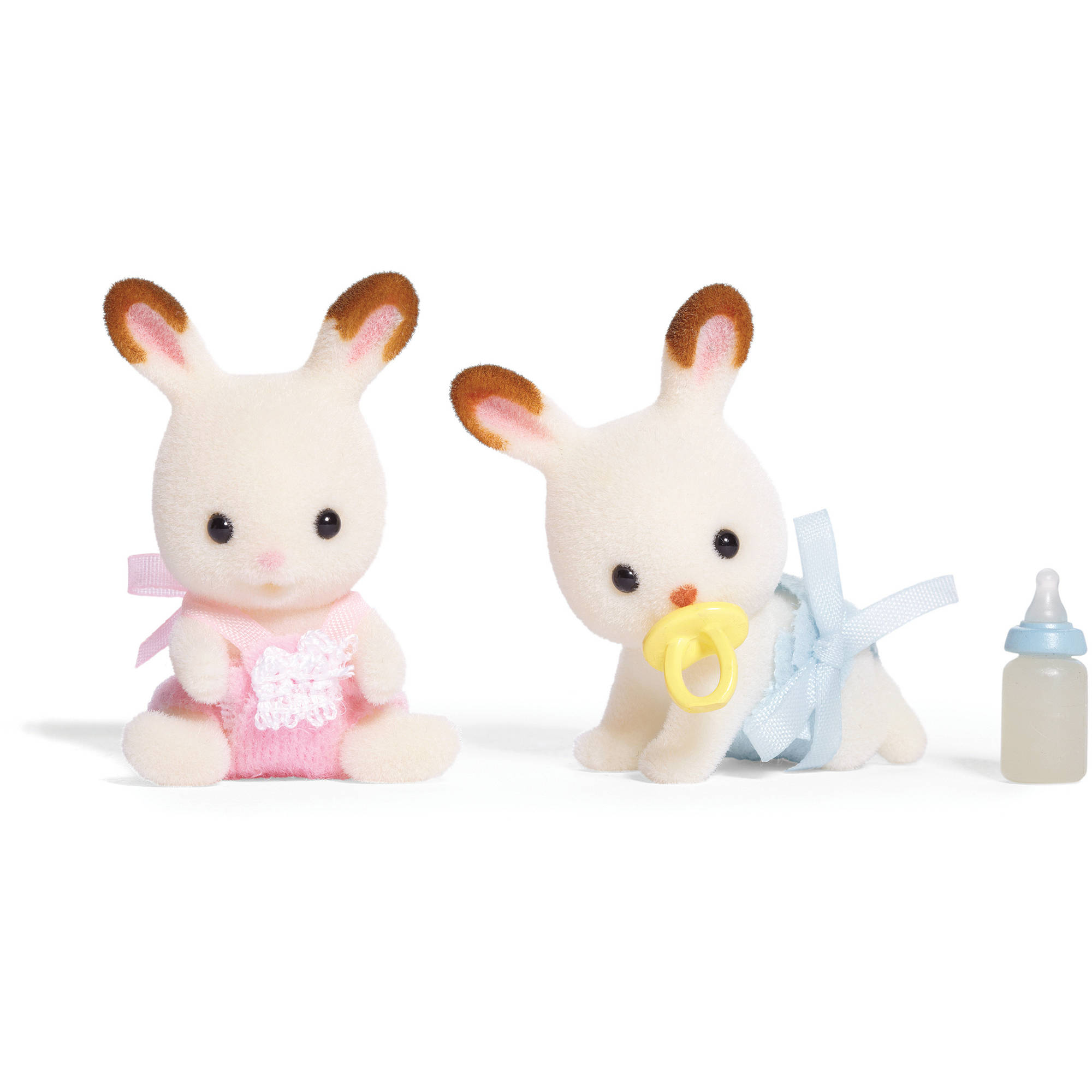 international playthings calico critters hopscotch rabbit twins