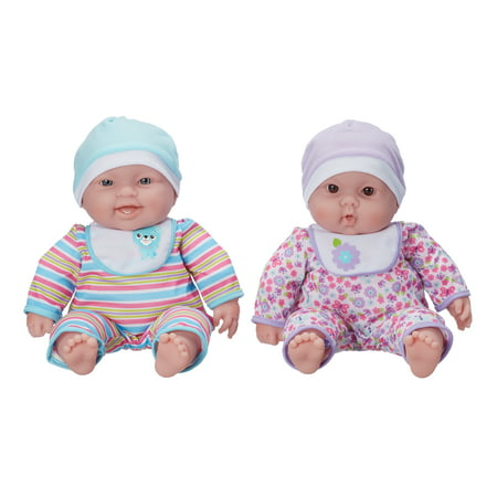 My Sweet Love Lots to Cuddle Babies Twin Doll Set Be Sweet Mohair