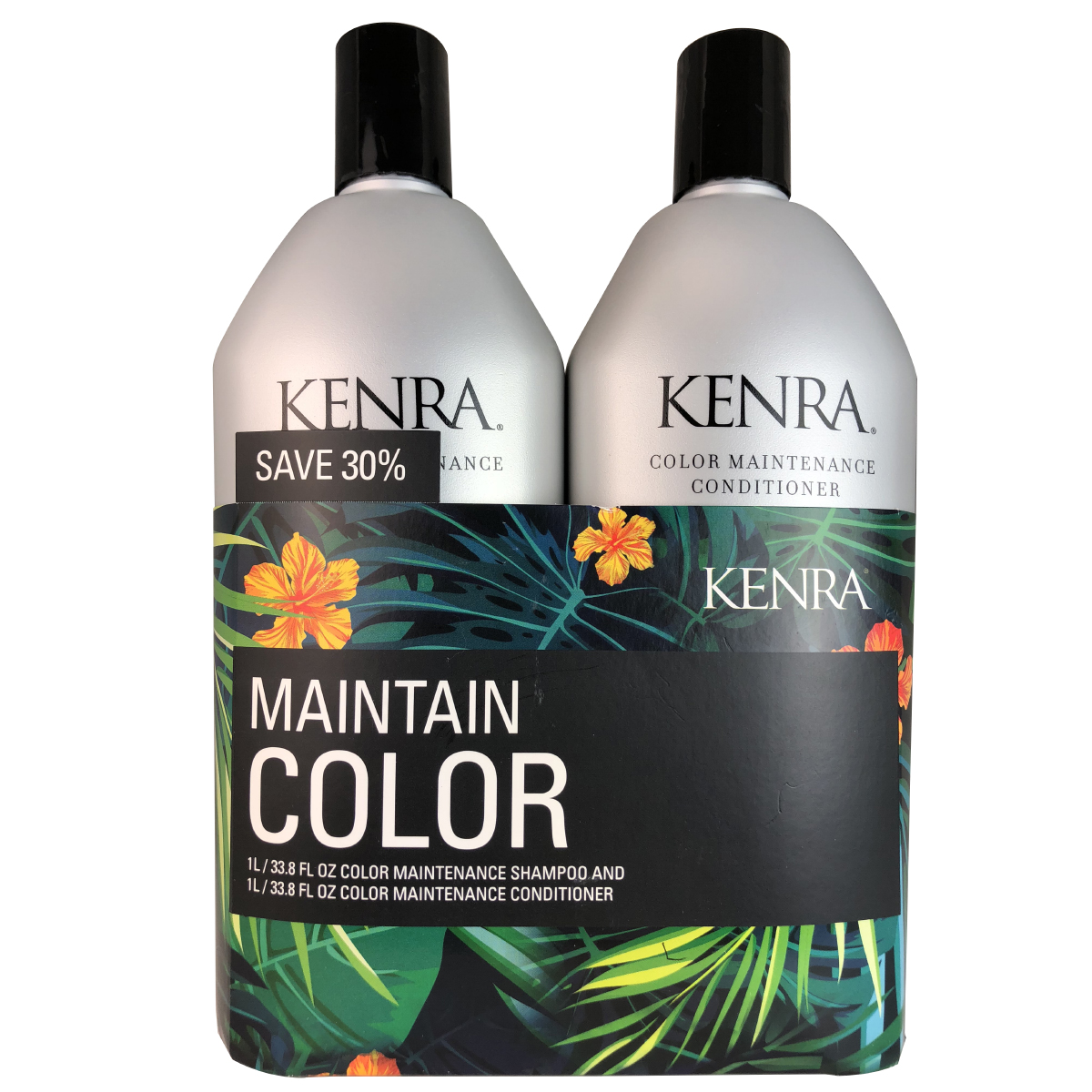 Kenra Maintain Color Shampoo & Conditioner Duo 33.8 Oz EA