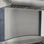 Stainless Steel Backsplash 24-Inch by 24-Inch Stainless Steel Range Hood Wall Shield
