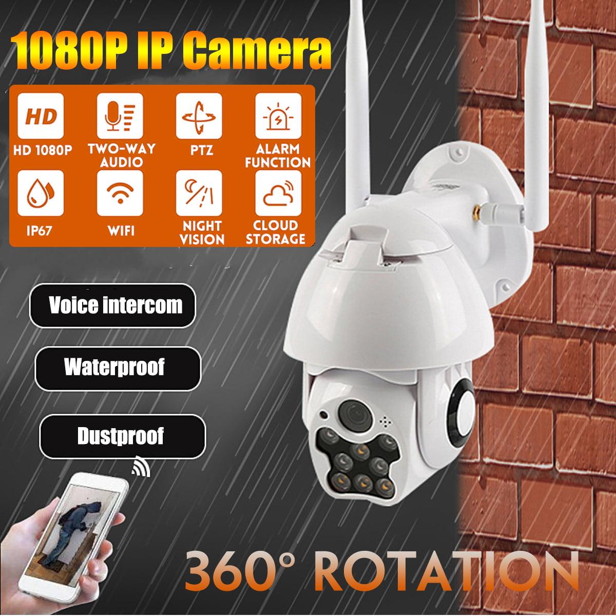 1080P WIFI IP Camera Wireless Outdoor CCTV  Dome HD Home Security IR Night Cam