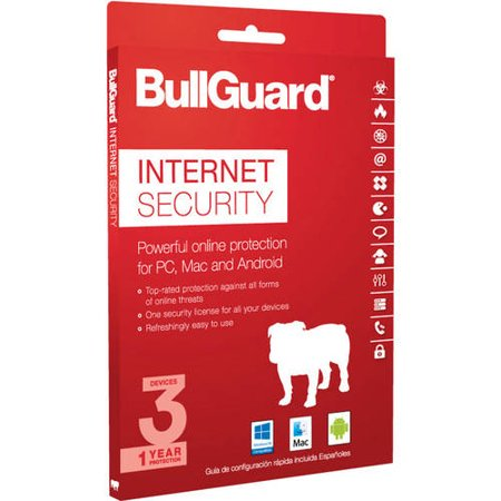 Bullguard Internet Security  1 Year  3 Devices