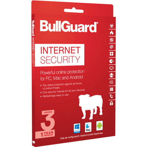 BullGuard Internet Security, 1 Year, 3 Devices