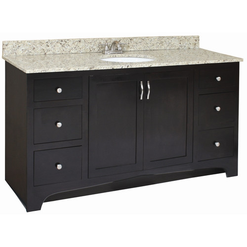 Design House Ventura 60'' Bathroom Vanity Base