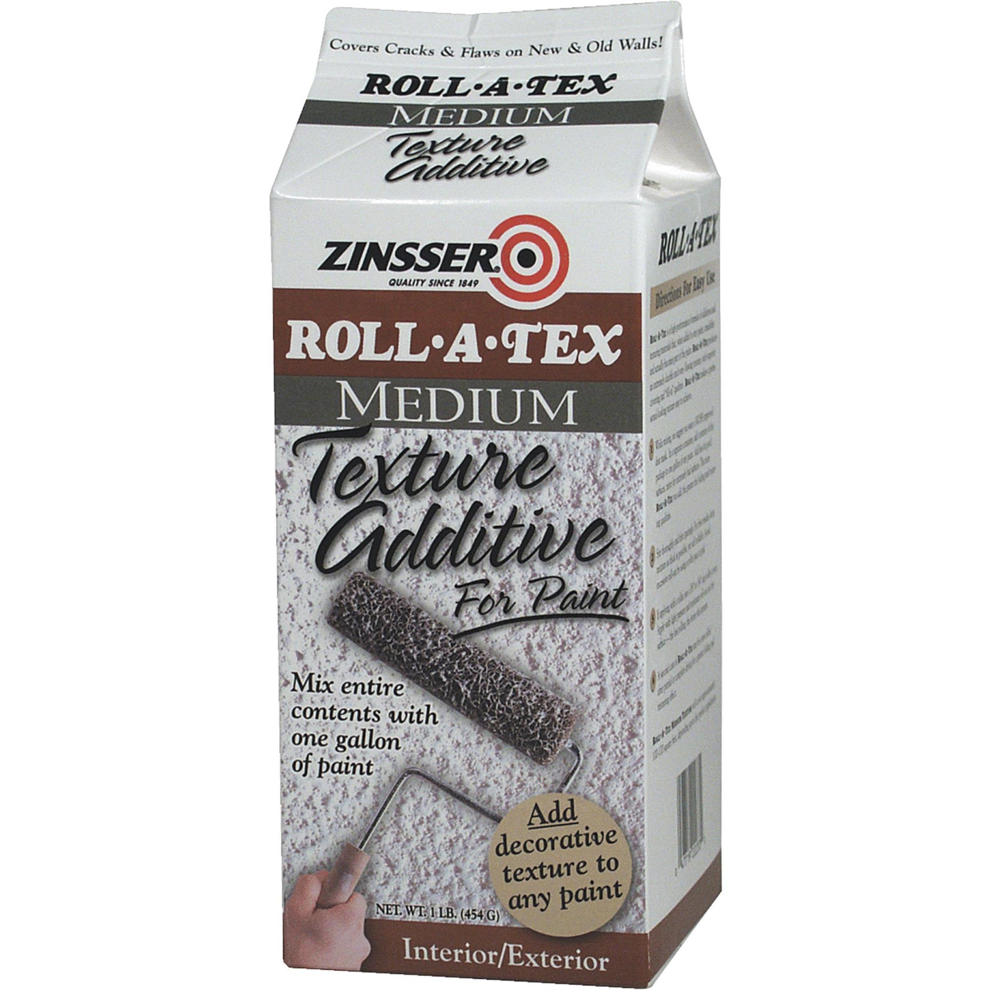 Zinsser Roll A Tex Texture Additive
