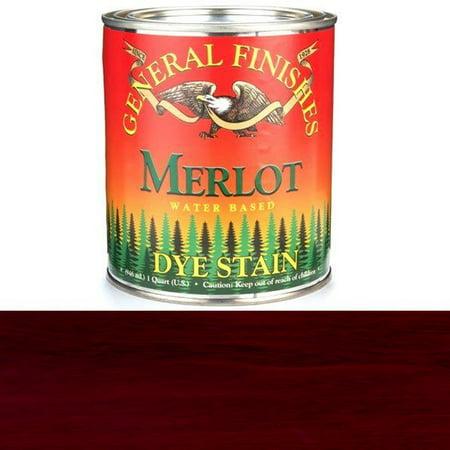 General Finishes, Water Based Dye, Merlot, Quart