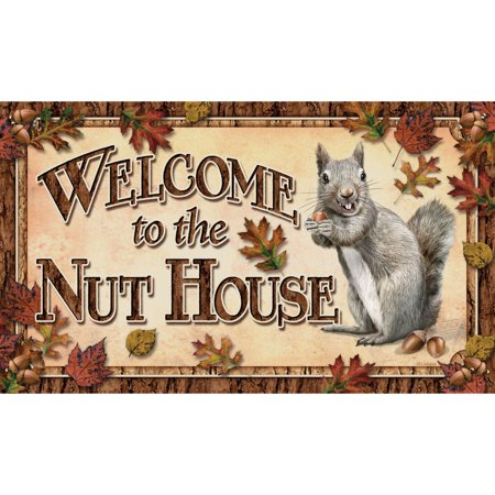 Rivers Edge Nut House Doormat (Edge Door Mat)