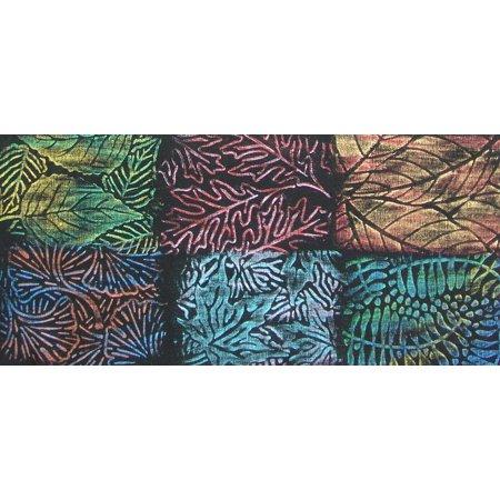 Jack Richeson Artist Paintstik Rubbing Plates, Multiple Design, 7