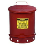 14 GAL.OILY WASTE CAN W/LEVER