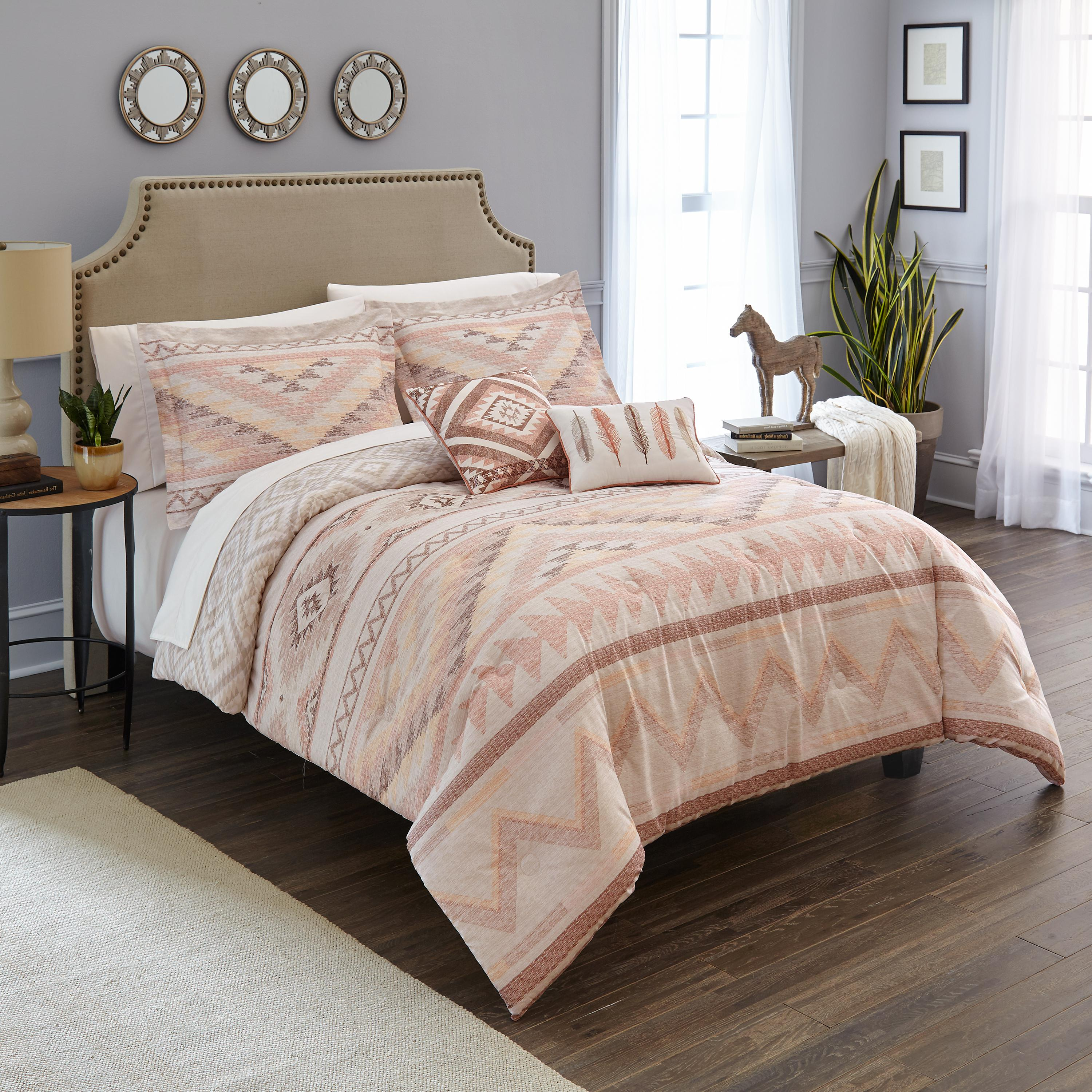 Better Homes & Gardens Full or Queen Santa Fe Comforter Set, 5 piece