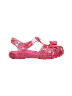 c5df6a6a6b00df Product Image Infant Girls  Crocs Isabella Bow Fisherman Sandal Kids