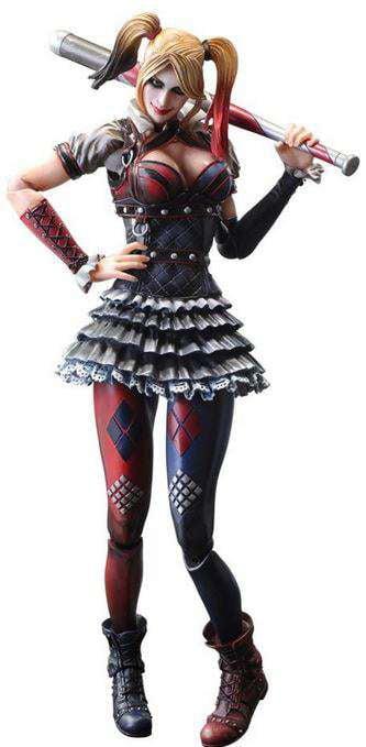 Batman Play Arts Kai Harley Quinn Action Figure [Arkham Knight] by Square Enix