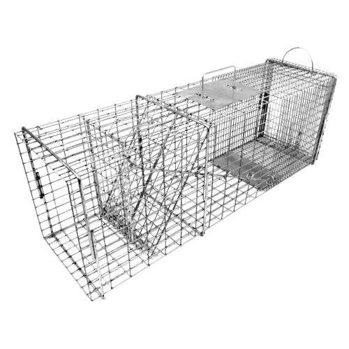Tomahawk Original Series Rigid Flush Mount Trap with Easy Release Door for Racoons/Groundhogs/Feral Cats
