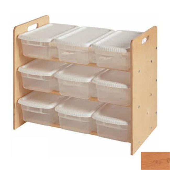 Little Colorado 068NA Nine Bin Toy Organizer in Natural by Little Colorado