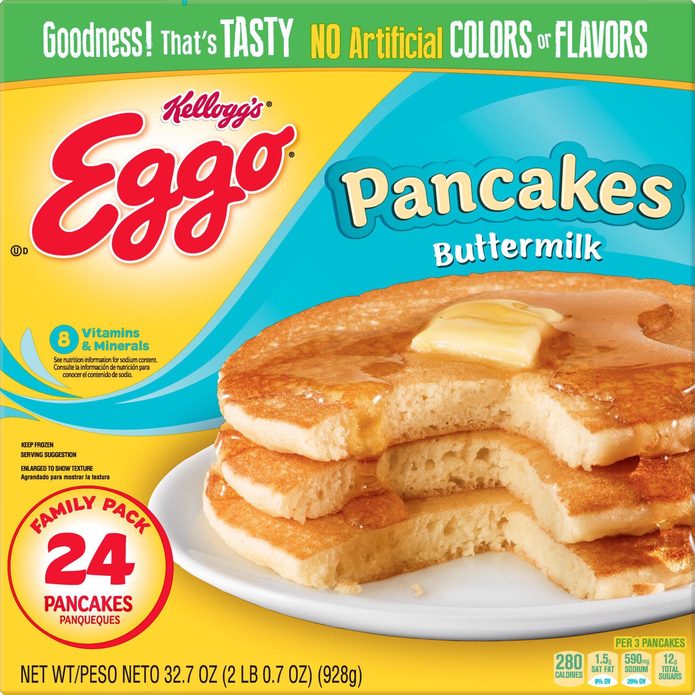 Kellogg's Eggo Pancakes Buttermilk 32.7oz